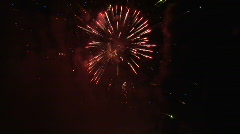 New Years Fireworks - HD 1080 Stock Footage