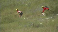 Spring Mountain Biking 9 59.94 Stock Footage