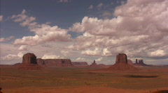 Monument Valley 18 Timelapse x40 Artist Point / Grand Circle, Arizona-Utah, USA Stock Footage