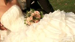 Bridal Couple Stock Footage