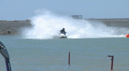 Stock Video Footage of  jetski racers