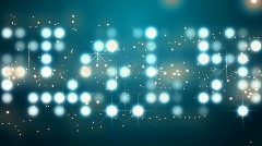 Glowing dots background - stock footage