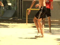 Olympics – Kids Playing Soccer - Rio De Janeiro Stock Footage