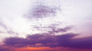 Stock Video Footage of beautiful sunset. time-lapse HD