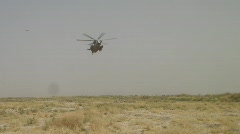 CH-53 Landing in Afghanistan (HD) c - stock footage
