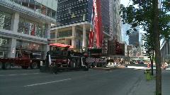 construction, mammoet 300-ton crane, #9 montage - stock footage