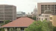 Capital and Bob Bullock Museum Stock Footage