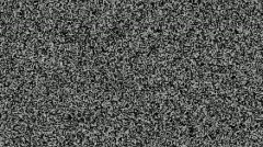 TV static - stock footage