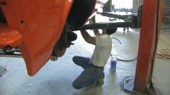 Auto restoration Stock Footage