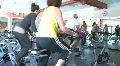 Women in Spin Class Footage