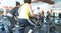 Women in Spin Class HD Footage