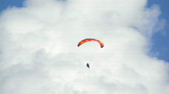 Hawaii paraglide 08 hdp Stock Footage