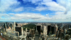 Central Park USA T/lapse Stock Footage