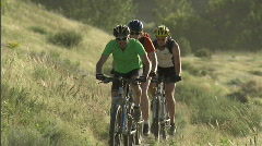 Spring Mountain Biking 2 23.98 - stock footage