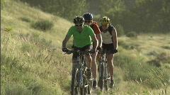 Spring Mountain Biking 2 23.98 Stock Footage