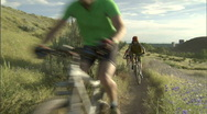 Spring Mountain Biking 8 23.98 Stock Footage