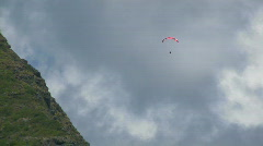 Hawaii paraglide 025 hdp Stock Footage
