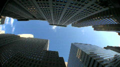 NYC Financial District - stock footage