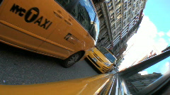 Yellow Taxi Cabs Stock Footage