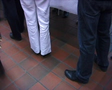 People queueing Stock Footage