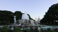 United States Capital with Fountain 2 Stock Footage