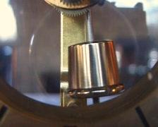 Clock with a pendulum Stock Footage