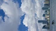 Vertical - Miami skyline Stock Footage