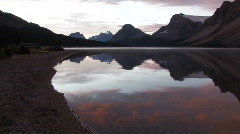 Bow Lake Stock Footage
