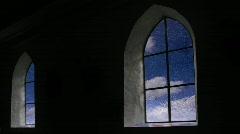 Church Windows - Timelapse Stock Footage