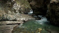 Canada: Johnson Canyon Stock Footage