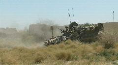 Marine Light Armored Vehicle - stock footage