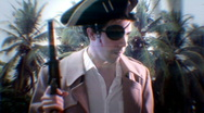 Pirate old Island Stock Footage