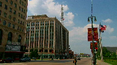 Downtown Detroit Stock Footage