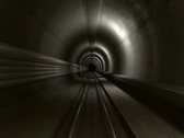 Subway tunnel Stock Footage