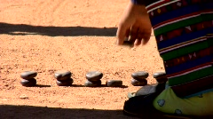 Akha Game Play Stock Footage