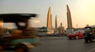 Democracy Monument Stock Footage