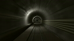 Subway Tunnel 2 Stock Footage