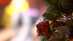 Gift on a Tree Stock Footage