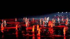 IMPRESSION Sanjie Liu show in Yangshuo, China Stock Footage