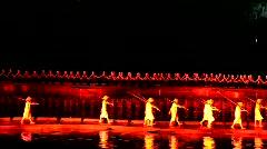 IMPRESSION Sanjie Liu show in Yangshuo, China - stock footage