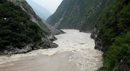 Stock Video Footage of Tiger Leaping Gorge, China