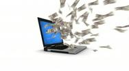 Internet money Stock Footage
