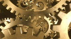 Gears in Motion 2 Stock Footage