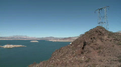 Lake Mead in Nevada (1 of 2) Stock Footage