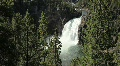 Upper Falls at Yellowstone National Park Footage