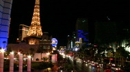 Stock Video Footage of Las Vegas at night