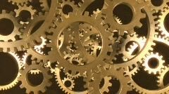 Gears in Motion 1 Stock Footage