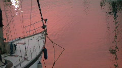 Sailing boat Stock Footage