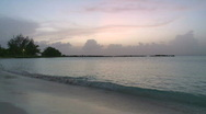 Stock Video Footage of Evening on a Barbados beach (5 of 6)