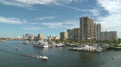 Fort Lauderdale Coast (1 of 3) - stock footage